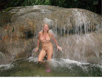 Looking for fun nudist friends for wife and I